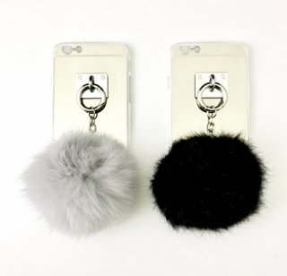 Fur Strap iPhone Case