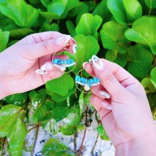 Turquoise ring Pierce