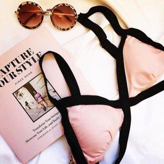By Color Pink Bikini