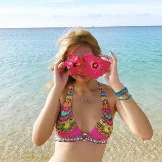 Paisley Pattern Bikini no.3