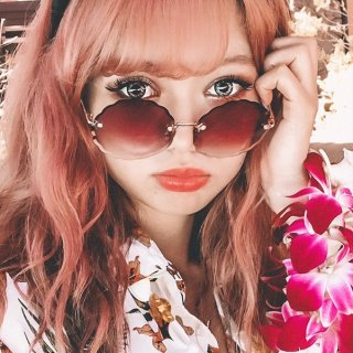 Flower Cut Sunglasses