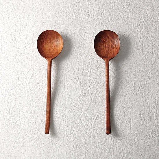 花梨スプーン 16cm / ラオス木のカトラリー