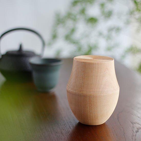 木製茶筒 KARMI 釜 ソジ / 我戸幹男商店
