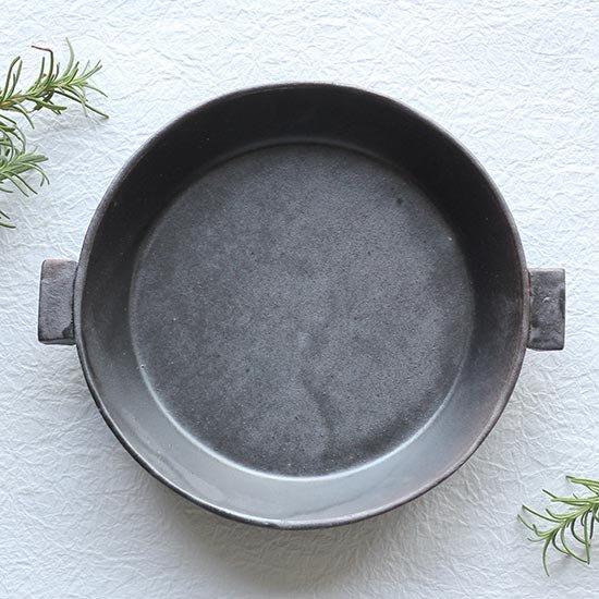 耐熱 陶板 小 18cm / クラフト石川