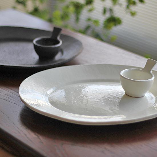 オーバル皿 M / 石川若彦