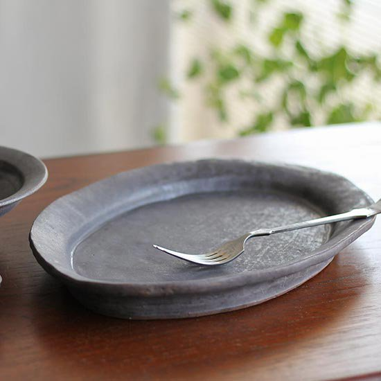オーバル皿 M  / 遠藤素子