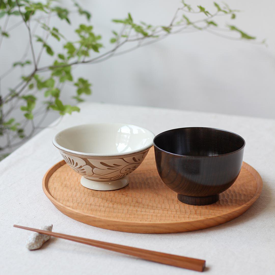 お椀 古代欅 / 我戸幹男商店