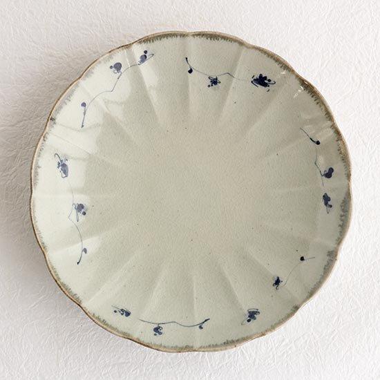 7寸輪花皿 / 石井桃子