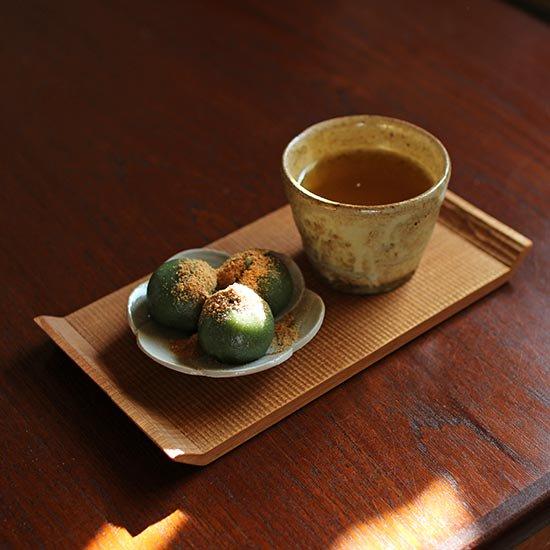 蕎麦猪口 黄粉引 / 佐藤敬