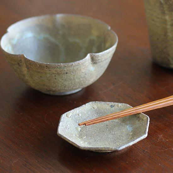 八角豆皿 / 冨部咲喜子