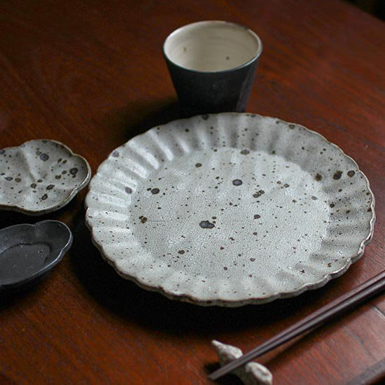 7.5寸輪花皿 / 加藤祥孝