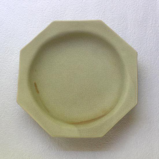 オクトゴナル皿 / 長浜由起子