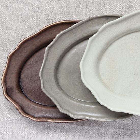 オーバル皿 / 長浜由起子