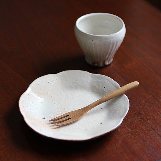 輪花皿 S / 古谷製陶所