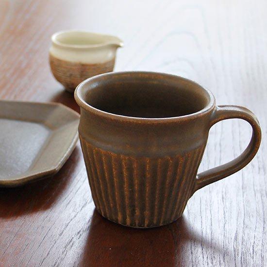 マグカップ しのぎ / 古谷製陶所