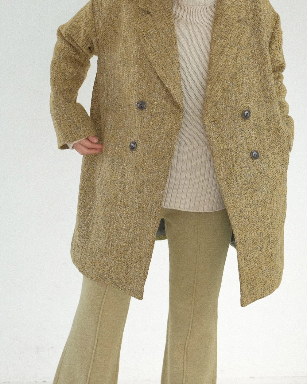 TWEED DOUBLE COAT