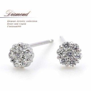 Pt900 ダイヤモンド 0.2ct ダイヤモンド ピアス 【当日出荷:平日13時までのご注文】