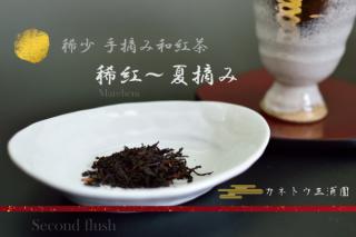 稀少 手摘み和紅茶 〜 夏摘み(セカンド・フラッシュ)