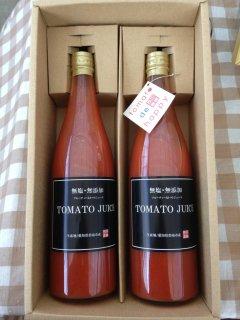 贈り物にぴったり!本当に贅沢なトマトジュース720ml×2本セット