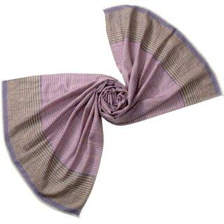 S-PN0710_0040_PINK PURPLE カシミヤ 手織りストール ピンクパープル