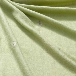 S-PN0663_0062_LIGHT GREEN 手織り カシミヤ ニードル手刺繍ショール