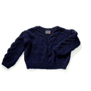 GK-0019_0012_NAVY ペルー製手編みニットセーター