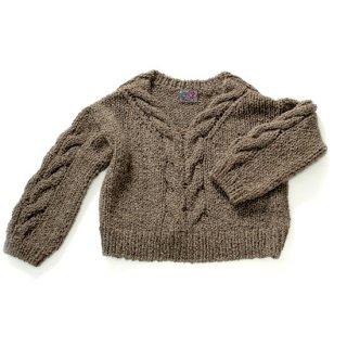GK-0019_0091_GRAY ペルー製手編みニットセーター