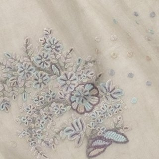 S-LA1000_0092_LIGHT GRAY 麻素材・手刺繍ストール