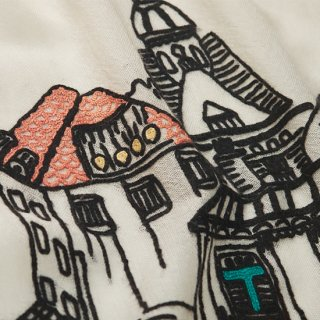 S-WTA0963_0271_WHITE 【TOWN】薄手ウール・シルク アリー手刺繍ストール