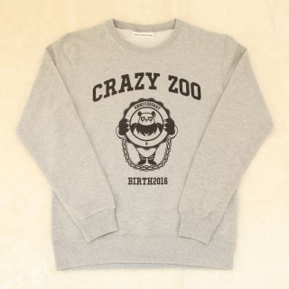 【 40%OFF 】[CrazyZoo] ANNIVERSARY SWEAT<img class='new_mark_img2' src='//img.shop-pro.jp/img/new/icons20.gif' style='border:none;display:inline;margin:0px;padding:0px;width:auto;' />