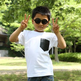 [CrazyZoo] PKT KIDS TEE -BLACK STUDS-