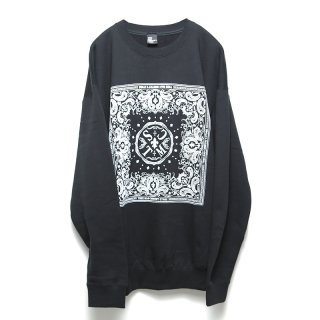 [TMCS] BANDANA BIG SWEAT (WHITE)
