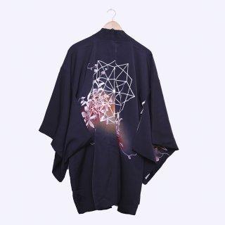 [HIYU] リメイク黒羽織(幾何学)