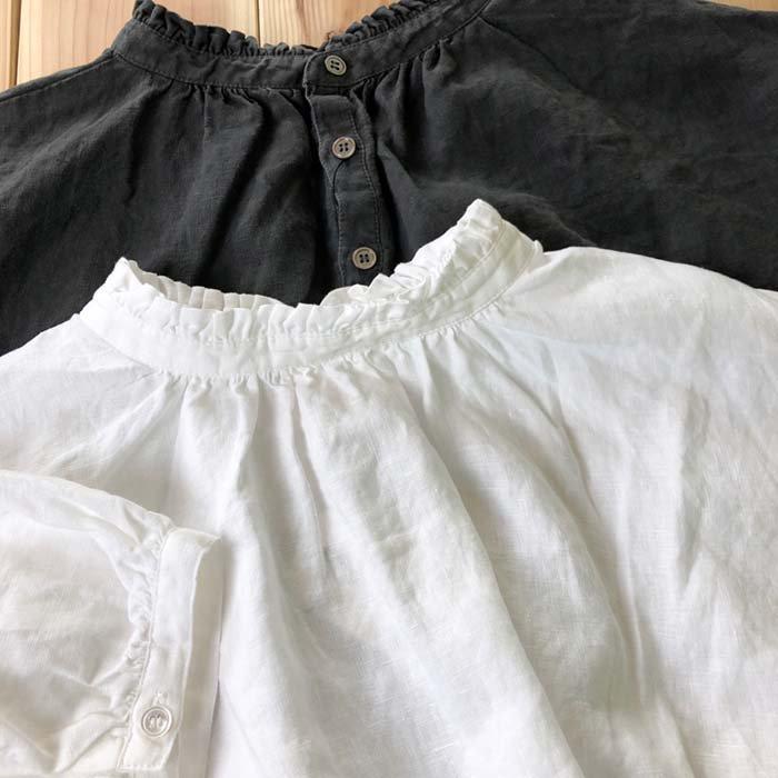 ista ire スタンドフリル衿半袖2WAYワンピース サブイメージ