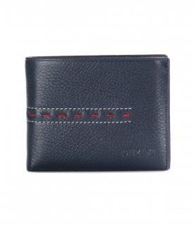 トルコ レザー 財布 ネイビー 牛革100% 1565