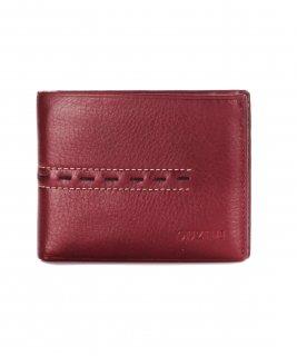 トルコ レザー 財布 レッド 牛革100% 1565