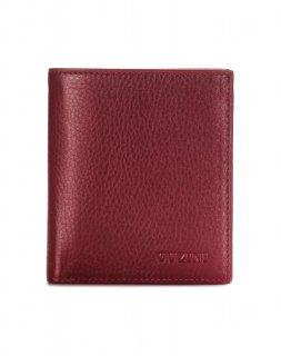 トルコ レザー 財布 レッド 牛革100% 1587