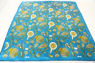 トルコ製 オリジナルシルクスカーフ シルク100% ーID S105−5