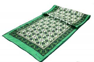 トルコ製 オリジナルシルクスカーフ シルク100% ーID S101−1
