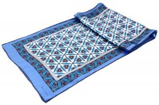 トルコ製 オリジナルシルクスカーフ シルク100% ーID S101−2