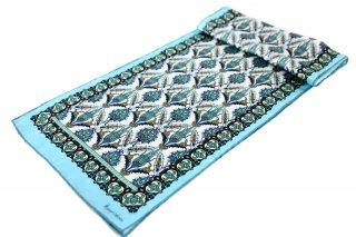 トルコ製 オリジナルシルクスカーフ シルク100% ーID S102−10