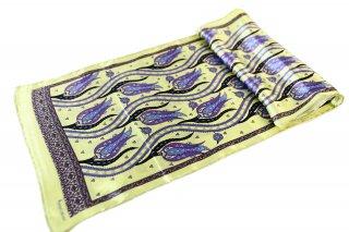 トルコ製 オリジナルシルクスカーフ シルク100% ーID S103−6