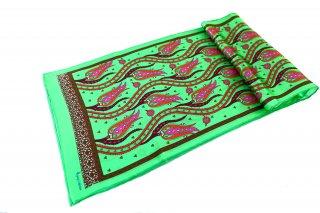トルコ製 オリジナルシルクスカーフ シルク100% ーID S103−7