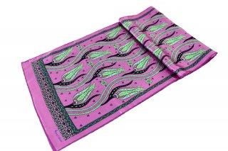 トルコ製 オリジナルシルクスカーフ シルク100% ーID S103−10