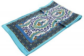 トルコ製 オリジナルシルクスカーフ シルク100% ーID S104−2