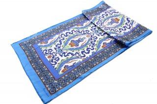 トルコ製 オリジナルシルクスカーフ シルク100% ーID S104−6