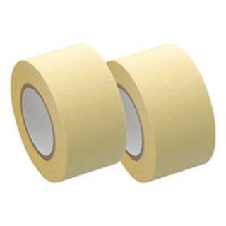 ヤマト メモックロールテープ詰替用 2巻入り 25mm×10m 黄