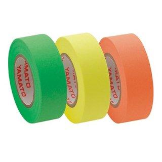 ヤマト メモックロールテープ詰替用 3巻入り 15mm×10mライム・レモン・オレンジ