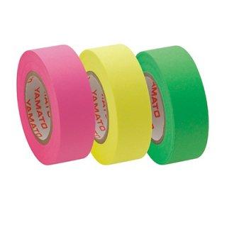 ヤマト メモックロールテープ詰替用 3巻入り 15mm×10m ローズ・レモン・ライム