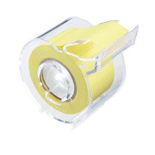 ヤマト メモックロールテープカッター付 1巻入り 25mm×10m 黄